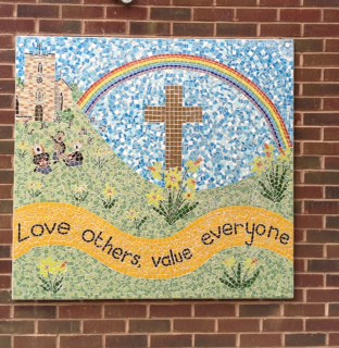 St Peter's CE Primary School Mosaic