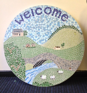 Thorneyholme RC Primary School mosaic