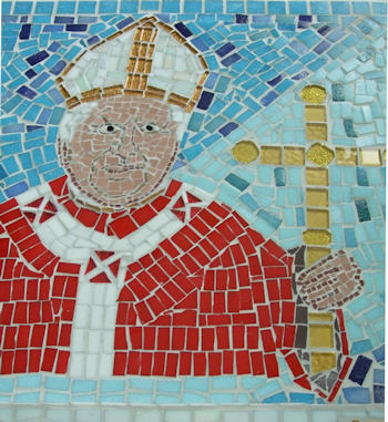 School Mosaic at the Oratory