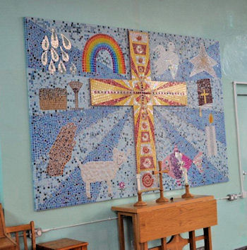 Hall Mosaic for St Laurence Church Infant School