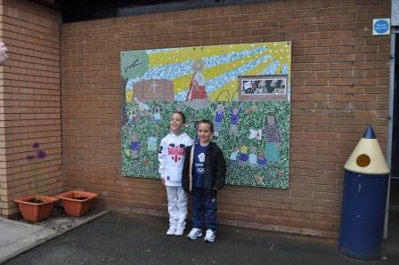 ST Peters School Mosaic
